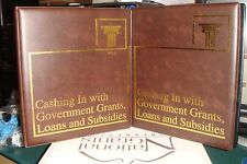 Vol 1 & 2 Cashing in On Government Grants Loans & Subsidies - Nat Grant Confer