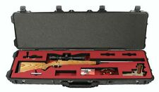 Pelican 1750 Case Replacement Center Foam Scoped Rifle & Handgun - No-Rip Felt