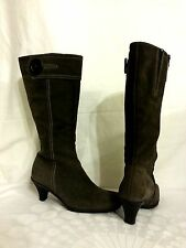 LA CANADIENNE 16852 DARK OLIVE GREEN KNEE HIGH BOOTS SIZE 9 M