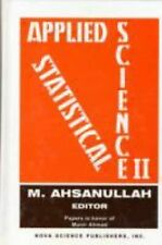 NEW - Applied Statistical Science, II: Papers in Honor of Munir Ahmad (No. 2)