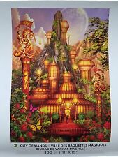 City of Wands - Ceaco - 300 piece puzzle - 11x15 - Glow in the Dark