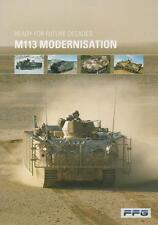 FFG M113 MODERNISTION 2015 MILITARY BROCHURE PROSPEKT FOLDER DEPLIANT