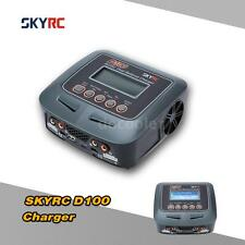 Original SKYRC D100 100W LiPo LiHV LiIon Battery 2 Ports Charger Discharger Z3N7