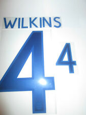 Wilkins no 4 England Home Football Shirt Name Set Adult Sporting ID