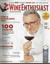 Wine Enthusiast Magazine October 2010 Riberas/Chef & Sommelier's Pairing Guide