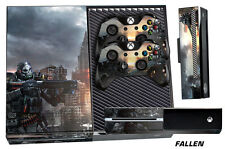 Skin for XBOX ONE 1 Console 2 Controller Graphics Sticker Wraps Decal FALLE
