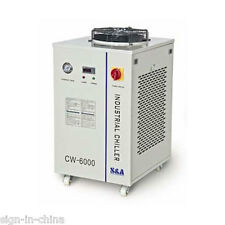 220V CW-6000AH Industrial Water Chiller for 3 x 100W / 4 x 80W CO2 Lazer Tubes