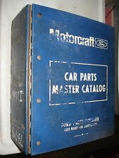 1973-1979 FORD ILLUSTRATIONS PARTS CATALOG ORIGINAL FOMOCO BOOK RARE #'S BOOK