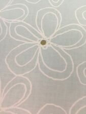 Lacy Daisy Mist Green White Sparkle Michael Miller Fabric FQ+ More 100% Cotton