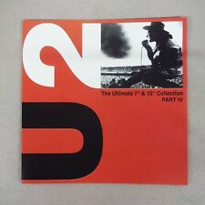 "U2 ""THE ULTIMATE 7""& 12"" COLLECTION PART IV"" PRO SOURCE SILVER DISC CD-BRAND NEW"