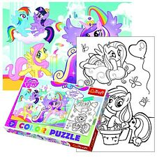 Trefl 20 Piezas Color Divertido Infantil Hasbro My Little Pony De Niña