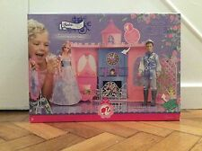 Barbie PRINCESS SLEEPING BEAUTY Castle Tower Camera da Letto Bambola Playhouse Musica Orologio