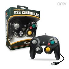 PC/ Mac Premium GameCube-Style USB Controller (Black) - CirKa
