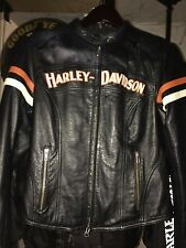 Harley Davidson Miss Enthusiast Leather Jacket Women's M 98142-09VW