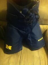 NEW PRO STOCK MICHIGAN WOLVERINES HOCKEY PANTS SIZE LARGE