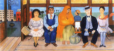 The Bus  by Frida Kahlo  Paper Print Repro