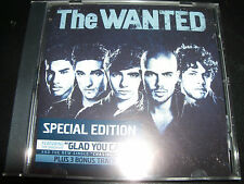 The Wanted Self Titled Special Edition Australia CD EP Bonus 3 Tracks - New