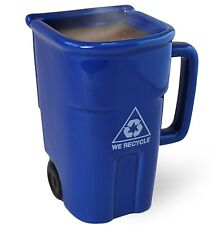 Big Mouth Toys The Recycling Bin Mug Drink Coffee Tea Home Office Gift Decor Cup