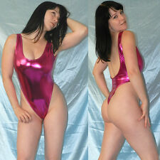 Alta piernas lackbody Shiny metalizado brillante * s Pink stringbody * quisquilloso