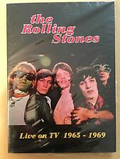 "ROLLING STONES ""LIVE ON TV 1965-1969"" DVD CD RARE JAPAN IMPORT"