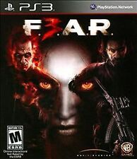 F.E.A.R. 3 GAME Sony PlayStation 3 PS PS3 F3AR FEAR F3