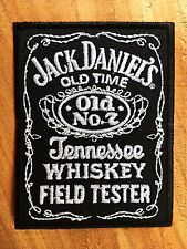 Jack Daniel's EMBROIDERED PATCH IRON ON or SEW on clothes . classic cool