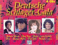 DEUTSCHE SCHLAGER-GALA / 4 CD-SET (COLUMBIA/SONY MUSIC 1995)