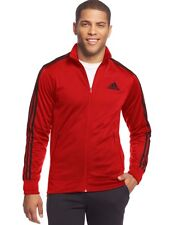 NWT Adidas F14 Post Game Red Track Jacket: Mens Large