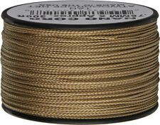 Parachute Cord Nano Cord Tan 75mm x 300ft. Tan braided premium nylon sport and t
