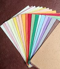 20 FULL SHEETS of handmade THICK SAA MULBERRY PAPER - Crafts, scrapbooking, Card