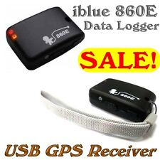 iblue 860E GPS Data Logger/USB GPS Receiver w Motion Sensor 66 Channels