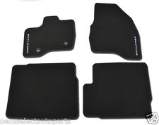 OEM NEW 2011-2014 Ford Explorer Premium Carpet Floor Mats BLACK Embroidered Logo
