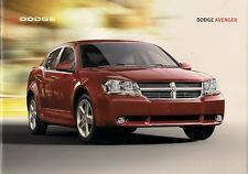 Dodge Avenger 2007-08 UK Market Sales Brochure SE SXT 2.0 2.4 2.0 Diesel