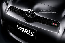 "Toyota Vitz Yaris Vios "" RS "" GRILL Emblem RADIATOR DECAL GENUINE LOGO BADGE 12"