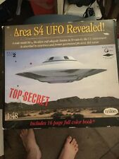 New Testors Area S4 UFO Revealed Box Not In Mint Shape