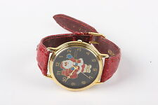 SANTA PIEUE NICOL QUARTZ C007 SINGAPORE MOV'T WRISTWATCH RED BAND  2869