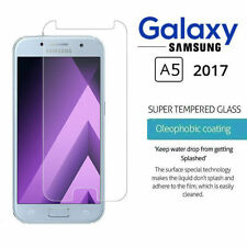 Two Tempered Glass Screen Protector Premium Protection Samsung Galaxy A5 (2017)