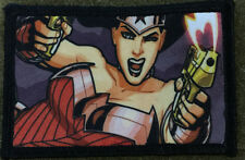 Wonder Woman Morale Patch Military Tactical Army Flag USA Hook Badge