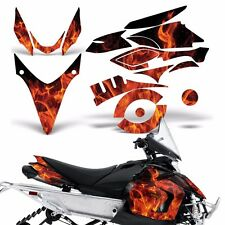 Yamaha Phazer Decal Graphic Kit Sled Snowmobile Parts Wrap RTX GT 07-16 ICE ORNG