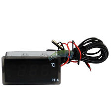 220V All-Purpose Test LED Digital Temperature Display Thermometer Aquarium Temp