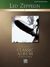 Led Zeppelin I (Authentic Bass TAB Edition) (Alfred's Classic Album Editions), L