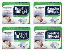 176 BREATHE RIGHT EXTRA NASAL STRIPS CLEAR  STRIPS ONE SIZE (4 X 44 CT )