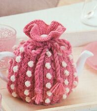 Knitted Tea Cosy Retro, Vintage Knitting Pattern