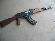 Double Eagle Metal AK-47 AEG Airsoft Gun 400 FPS Wood