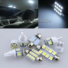 INTERIOR LED SMD Bulbs KIT Xenon WHITE Light FOR Ford Mondeo MK4 IV