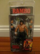 Neca John Rambo First Blood Part 2 II Sylvester Stallone not Rocky BNIB