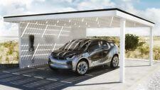 NUOVO Easy Solar vetro preparate 6.00 x 6.00 azione speciale Carports dalla fabbrica