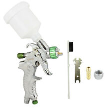 Mini HVLP SPRAY GUN 1.0mm TIP Basecoat Car Auto Paint w/ Spot Repair Plastic Cup