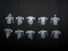 10 Blood Angel Tactical Squad Backpacks (Bits)