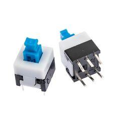 Miniatur Druckschalter 8 x 8 mm - 6 Kontake Ein / Aus